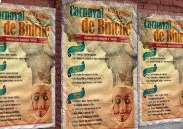 Carnaval de Binche – Affiche