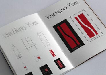 Vins Henry Yves  – Conception de logo
