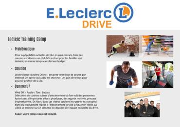 Leclerc Drive – Concept vidéo activation