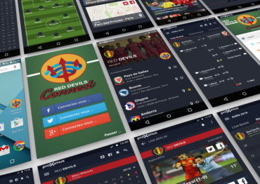 Red Devils Connect – App Layout