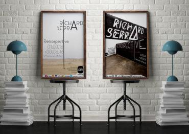 Richard Serra – Affiche Rétrospective